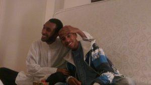 """Idris Cheway och Bilal. Båda hörde till al-Taqwa ungdomsförening och båda reste till Syrien """"för jihad"""" och dog. Bild från Facebook."""